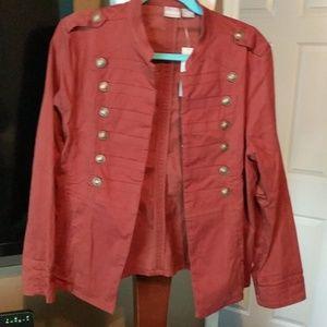 Chico's Military Jacket